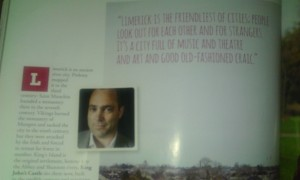 Donal Ryan on Limerick in Cara magazine